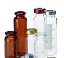 Chai vial nắp đóng miệng 20mm, 12ml La-Pha-Pack